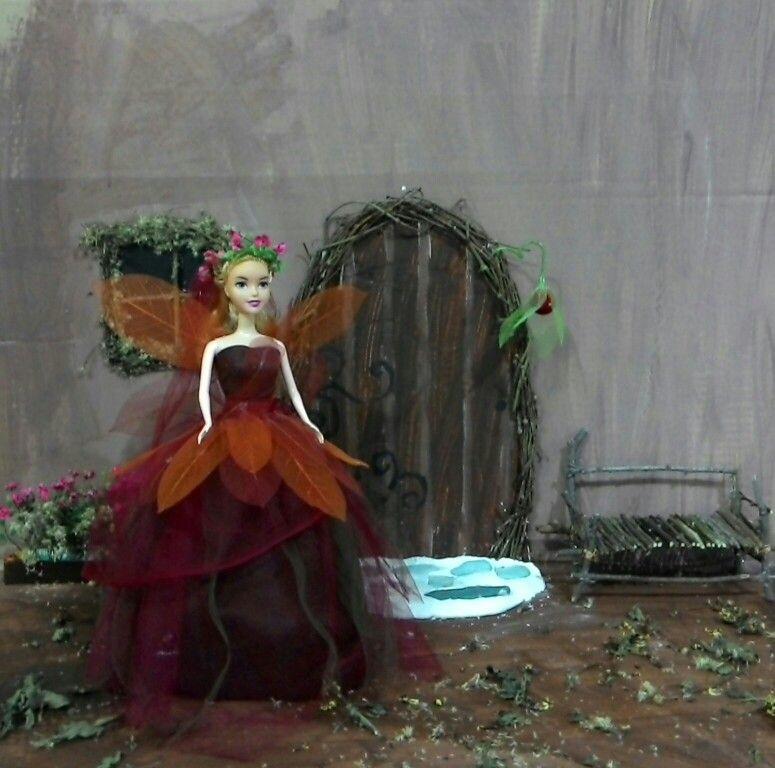Fairy...# leaf skeleton