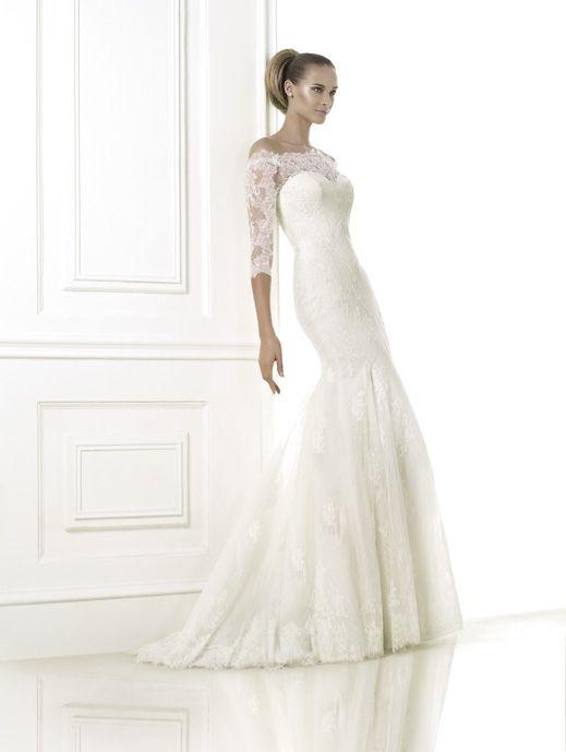 BELLAMY B (Vestido de Novia). Diseñador: Pronovias.