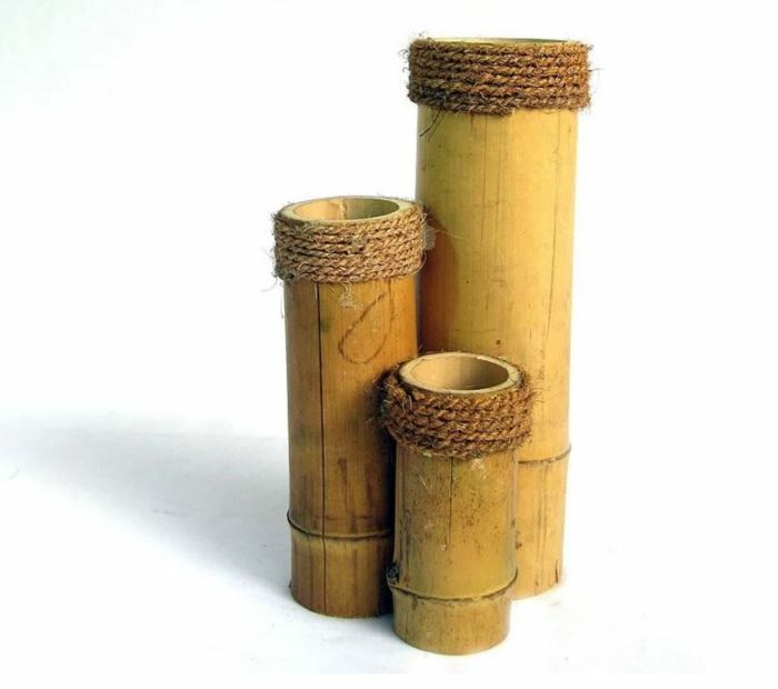 New Bambusm bel und Accessoires bambus deko deko aus bambus wanddeko blumenvasen