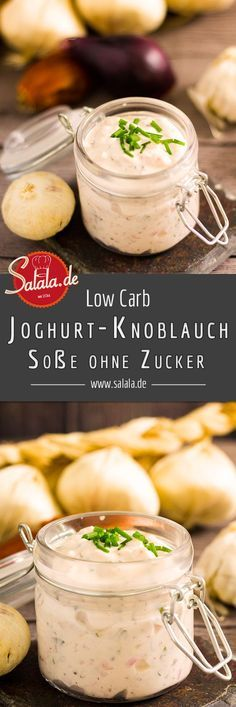 Photo of Yogurt-Garlic Barbecue Sauce – Low Carb Recipe | salala.de – Low carb made easy