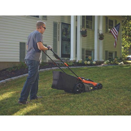 40v 20 Cordless Mower W Autosense Cm2040 Black Decker Lawn Mower Cordless Mower Mower