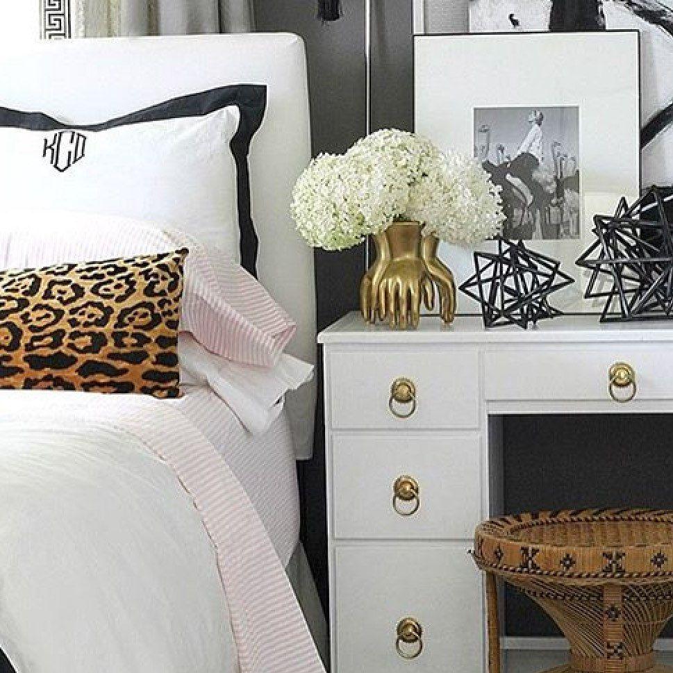 pillows metallic pin pillow throw leopard print cover