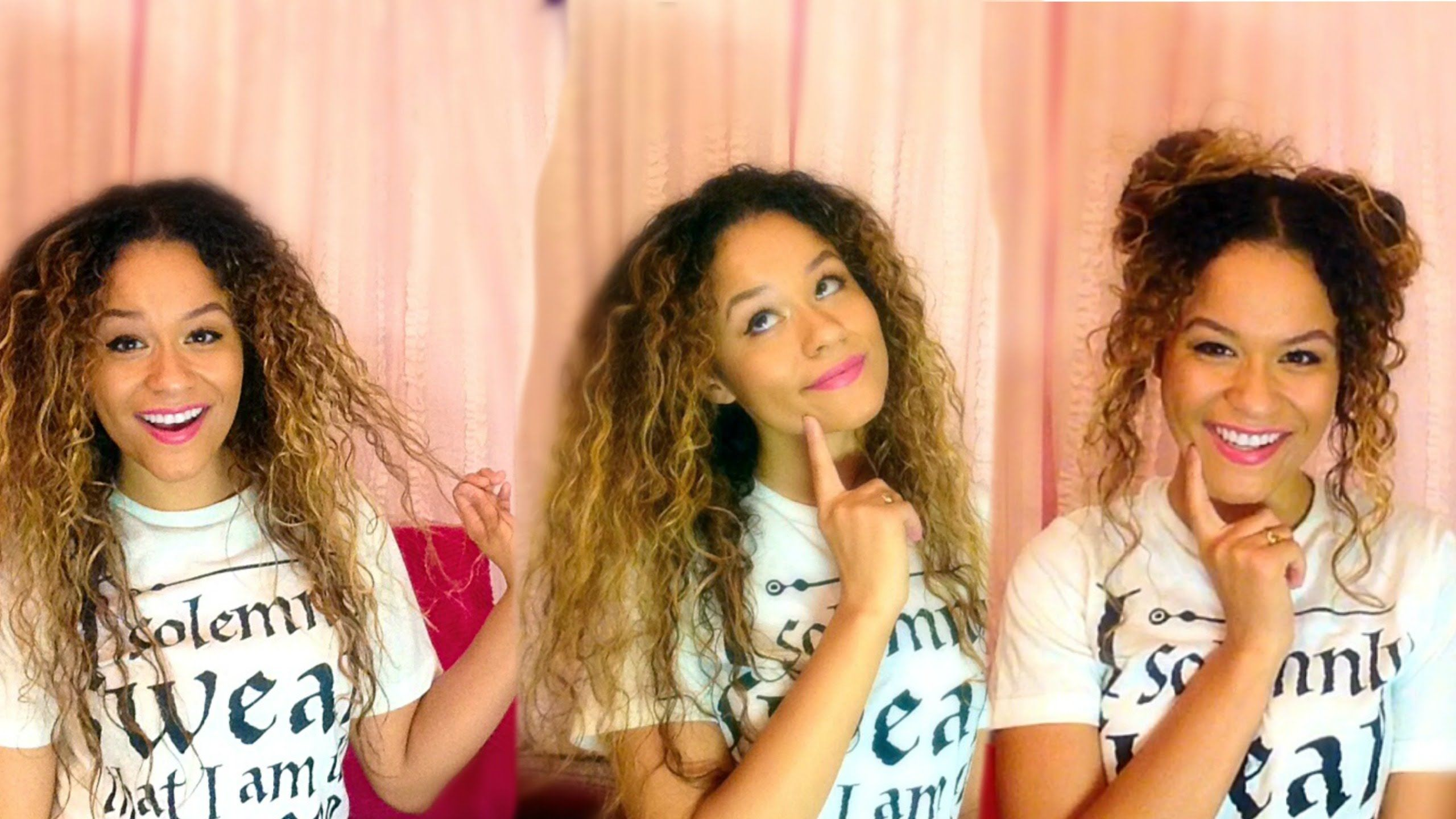 Fast and easy noheat curly hair styles keiko lynn sledge top