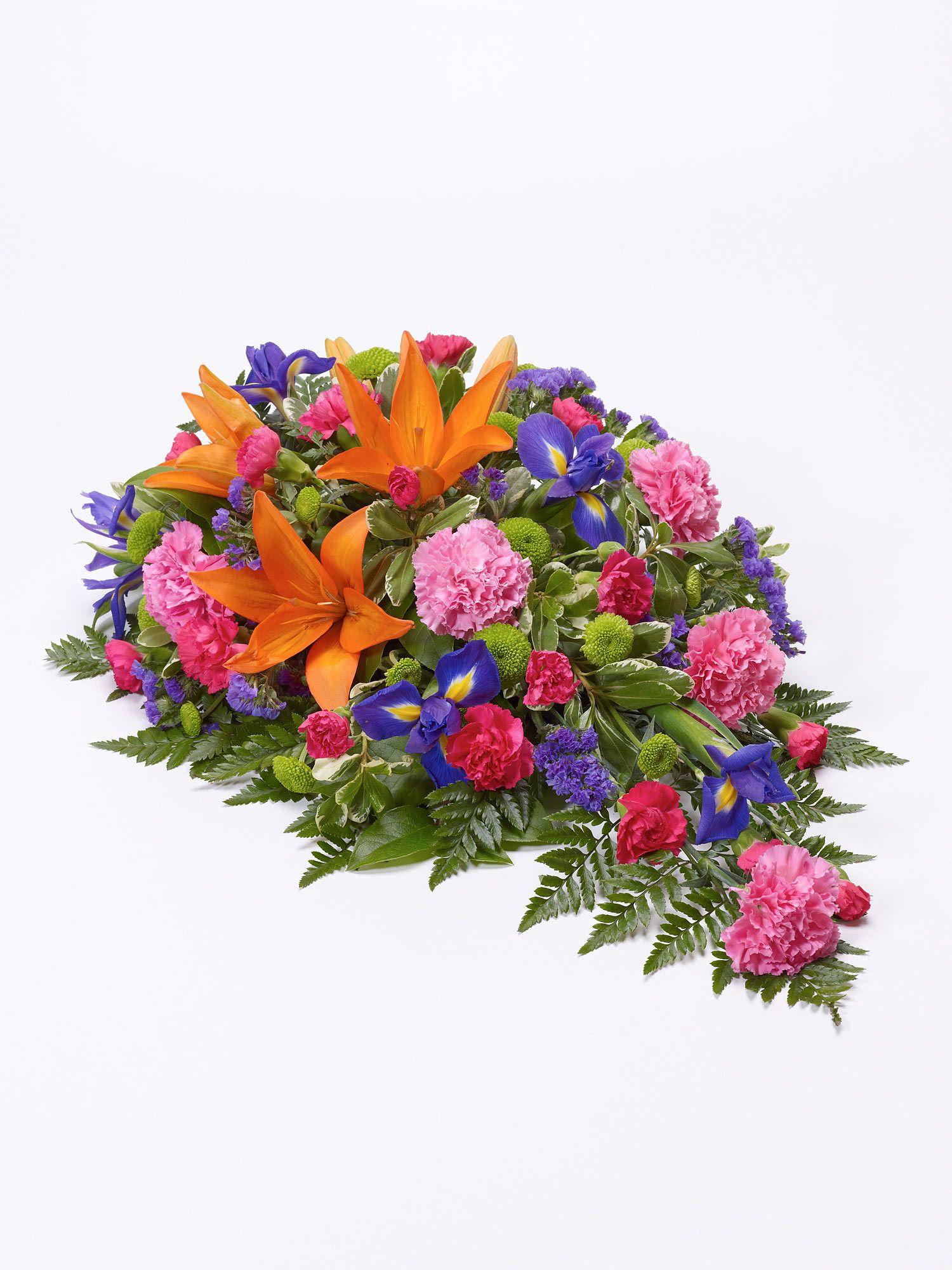 Walter Smith Lily And Iris Teardrop Spray Interflora Flower