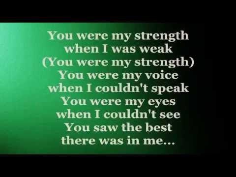 Because You Loved Me Lyrics Celine Dion Youtube In 2020 Me Too Lyrics Because I Love You Lyrics