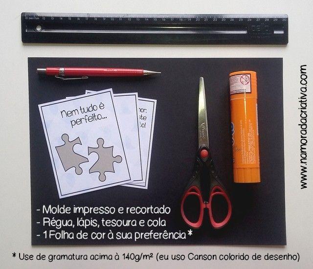 DIY - Cartão Nem Tudo é Perfeito - MATERIAIS1