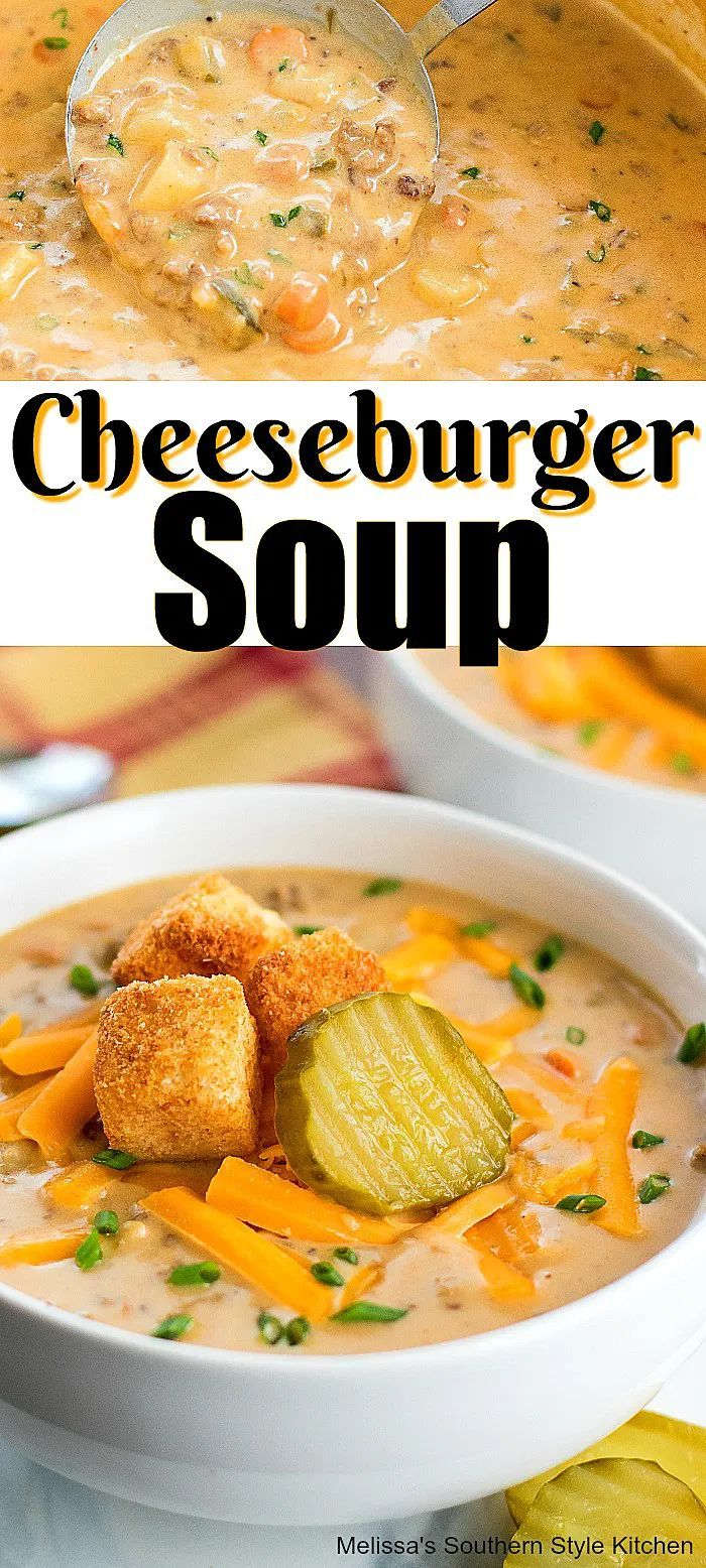 Cheeseburger Soup Cheeseburger Soup