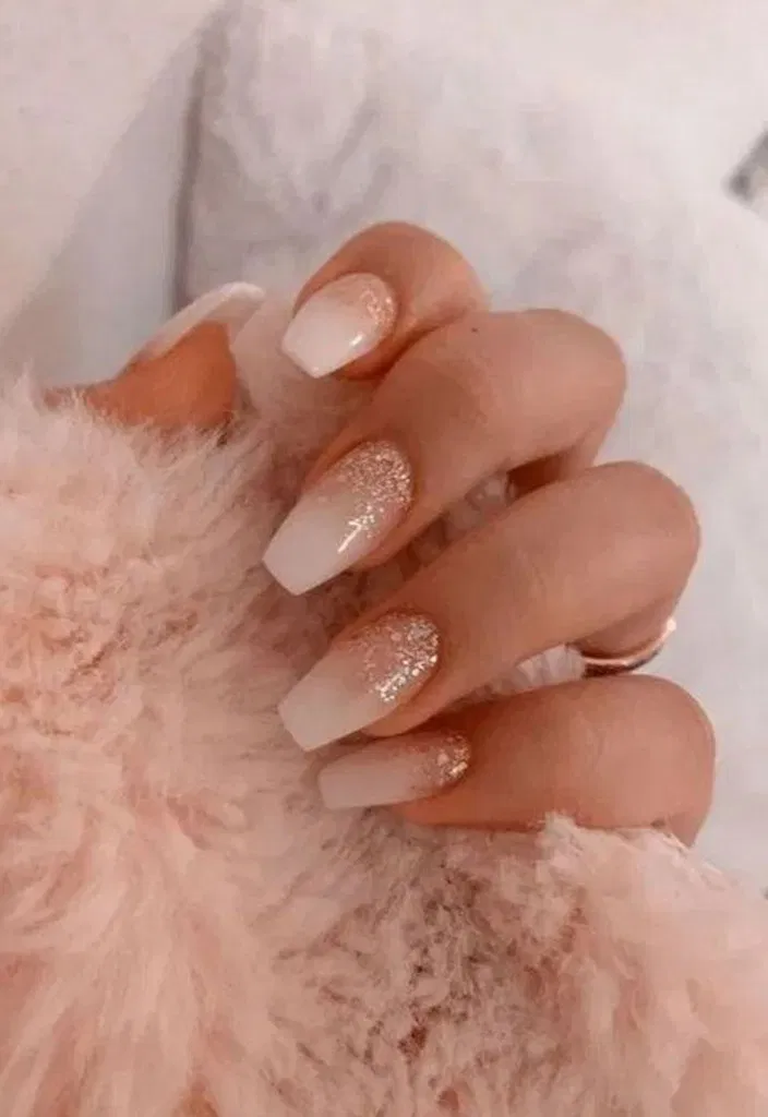 21 The Most Wonderful And Convenient Coffin Nail Designs Ideas 13 In 2020 Acrylic Nails White Acrylic Nails Bridesmaids Nails