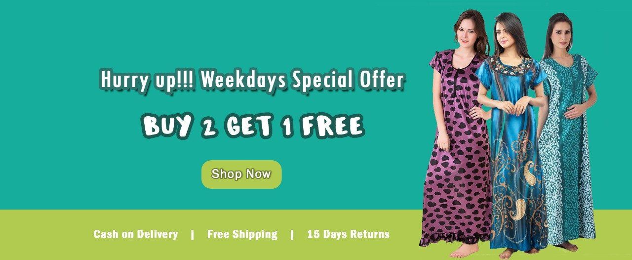 ef42aab4e69 Nightwear for Women - Buy Cotton Nighties Online India at best prices. –  Nighty House