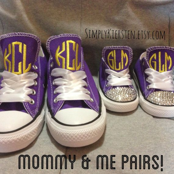 Mommy and Me Converse Shoes