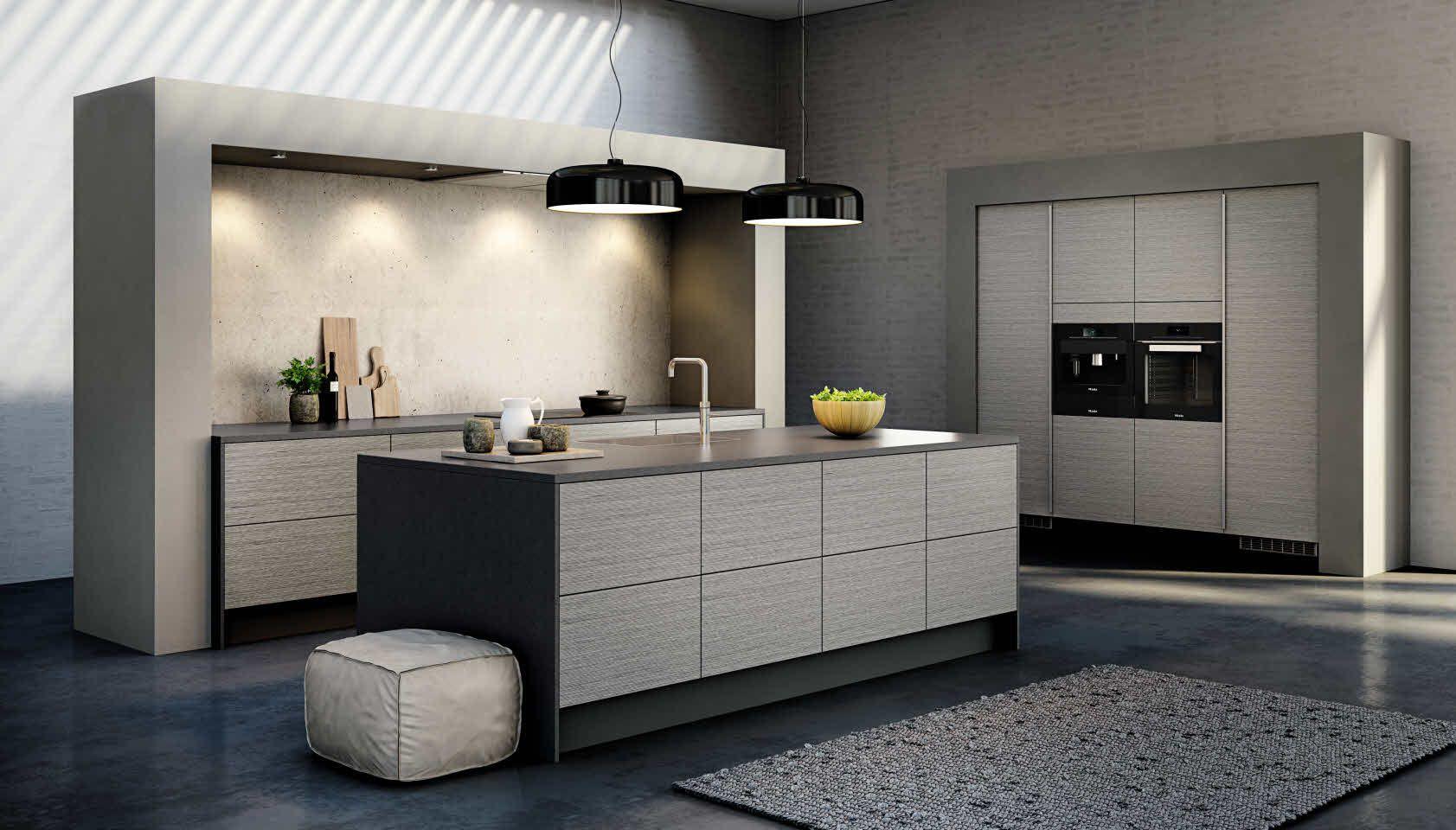HTH Fabolous Kitchen in Harmony Grey - grå overskap | Interior ...