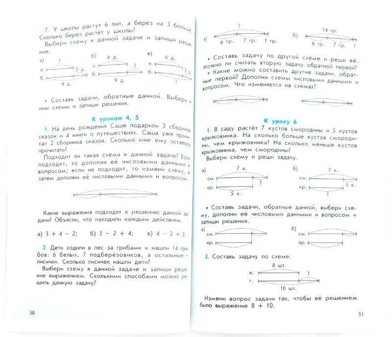Дидактический материал к учебнику гераськина скачать 1 класс