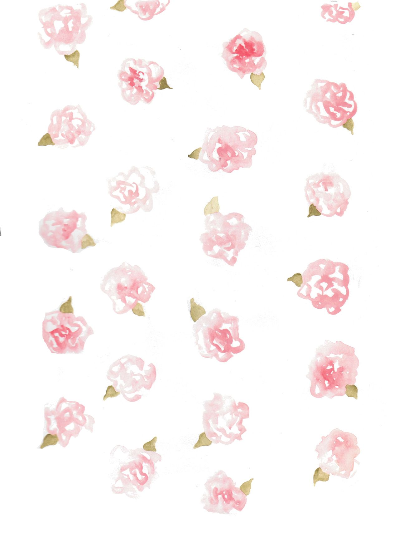Art painting flowers watercolor color floral print for Pretty designs to paint