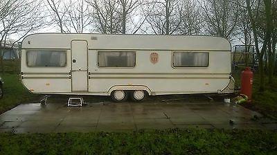 6 berth caravan with two porch awnings: £1,500.00 (0 Bids ...