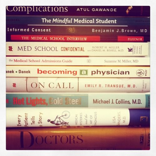 Med school prep - books every pre-med student should read