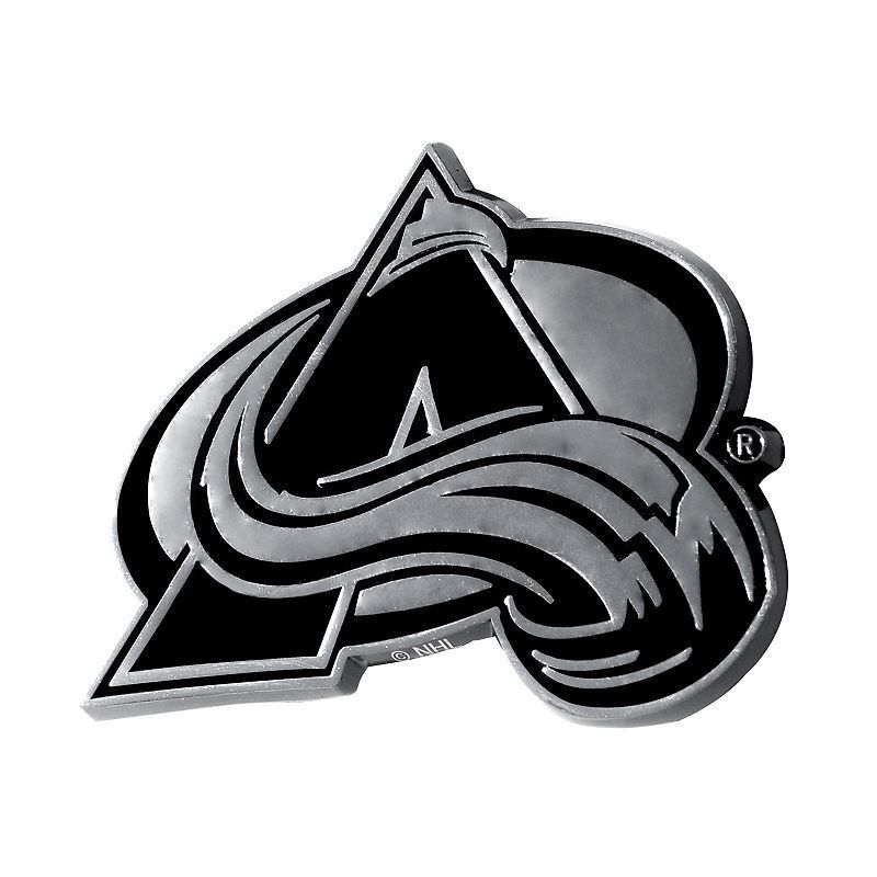 Colorado Avalanche Chrome Emblem, Multicolor