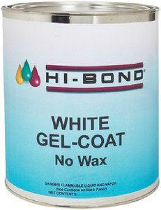 White Gel Coat No Wax Qt W Hdr Wax Gel Repair