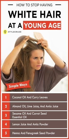 1718ed3bcfc47b7b6d017b2c2693f39f - How To Get Rid Of White Hair In Teenage Naturally