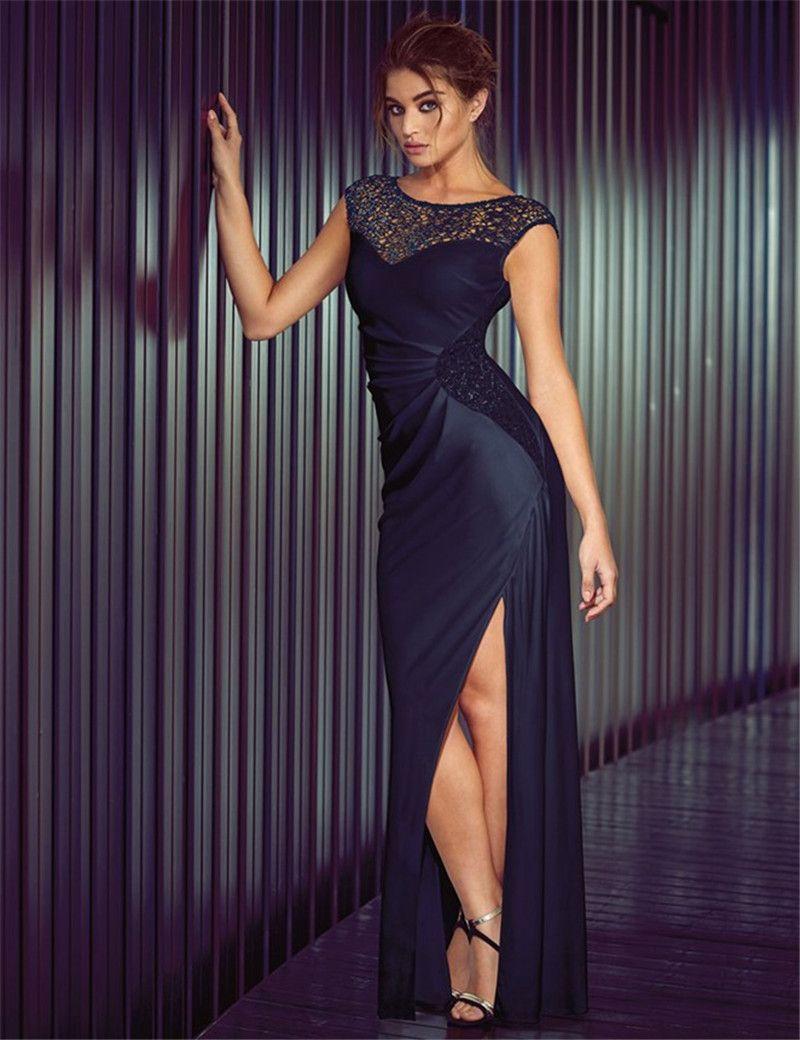 Lipsy vip long sleeve lace peplum dress size ivo hoogveld long