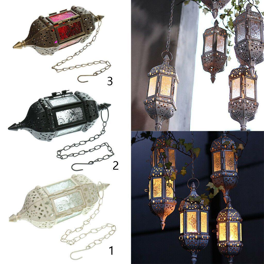 Vintage Hanging Candle Holder Moroccan Glass Candle Lantern Wedding Home Decor Moroccan Decor Id Hanging Candle Holder Hanging Candles Lantern Candle Decor