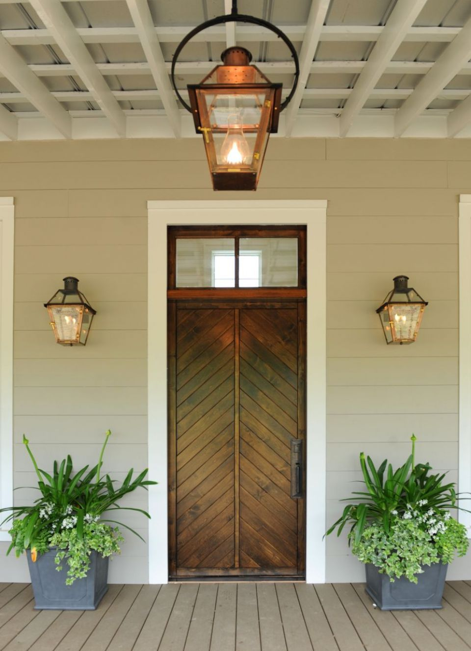 French Quarter On Original Bracket | Copper Lights | Bevolo Gas U0026 Electric  Lighting