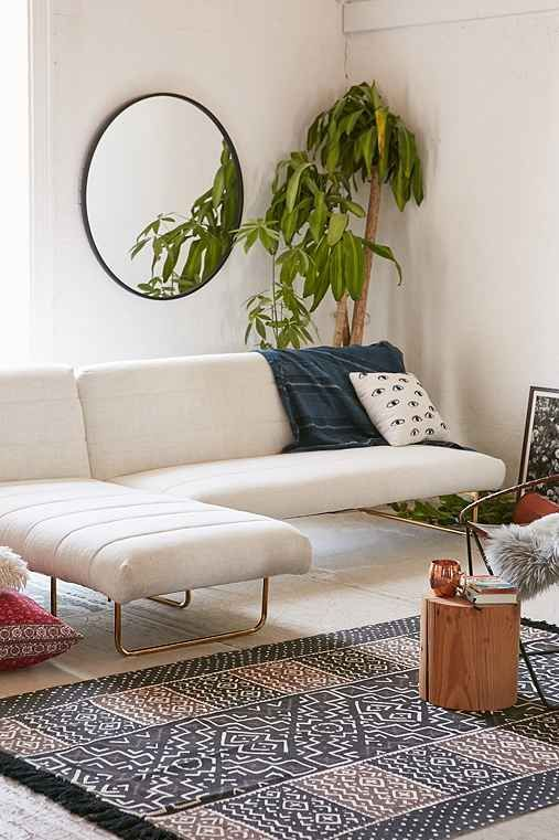 oliver sleeper sofa urban outfitters new apartment rh pinterest com