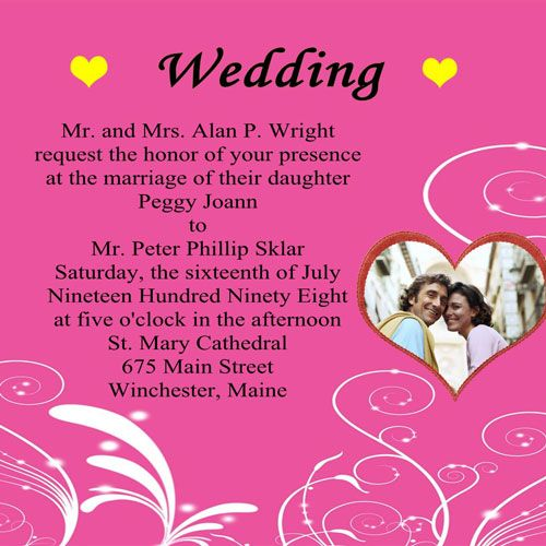 1000 images about Wedding Invitation Card – Invitation Cards for Weddings