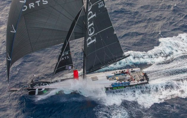 Third time lucky as Sydney Hobart Race record falls to supermaxi Perpetual Loyal
