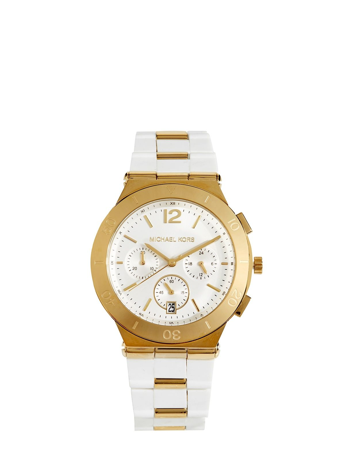 01c7e9476a5e Michael Kors Uhr MK 6171 weiss 159€   Fashionesta Online Shop ...