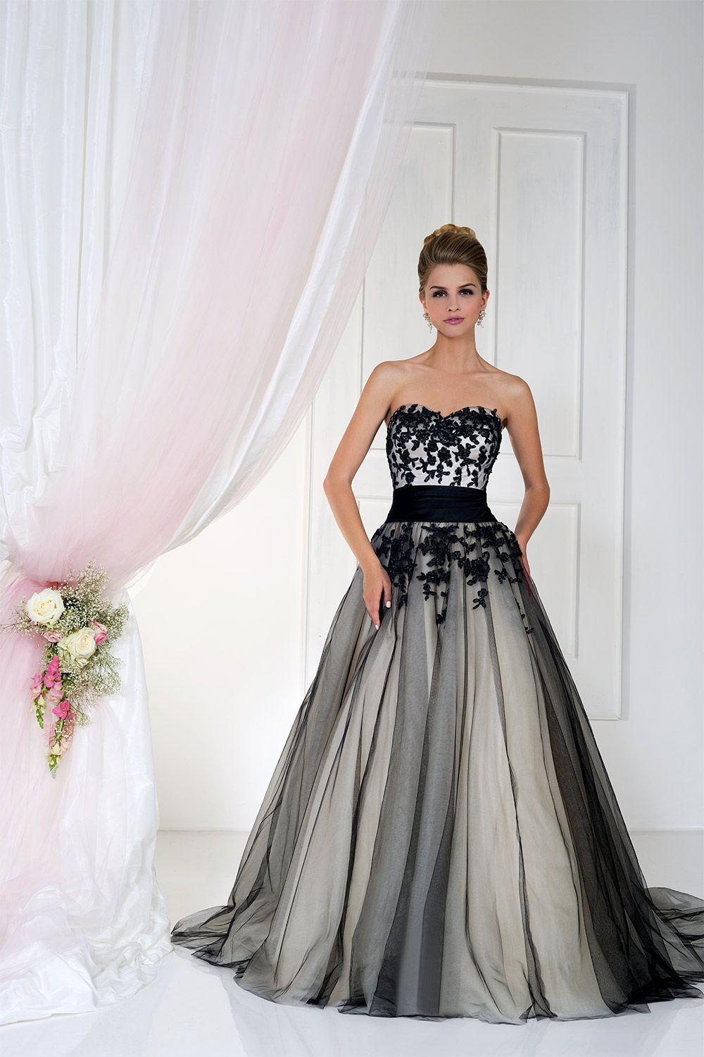 gothic wedding dresses Gothic Wedding Dresses 15 Dramatic Gowns