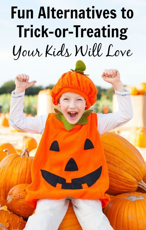 Fun Alternatives to Trick-or-Treating Your Kids Will Love Alternative - halloween activities ideas