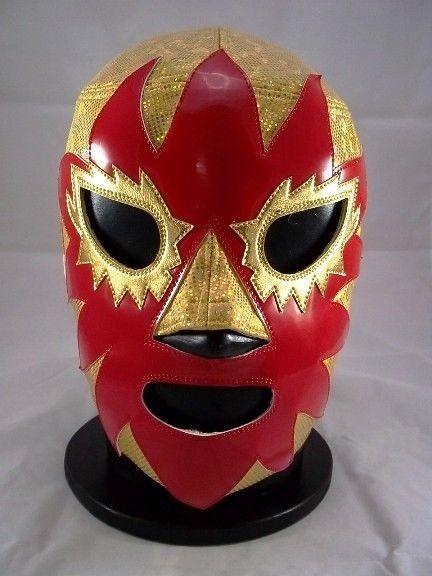 mexican wrestler peg dolls | ... SOLAR GOLD ZIPPER pro ...