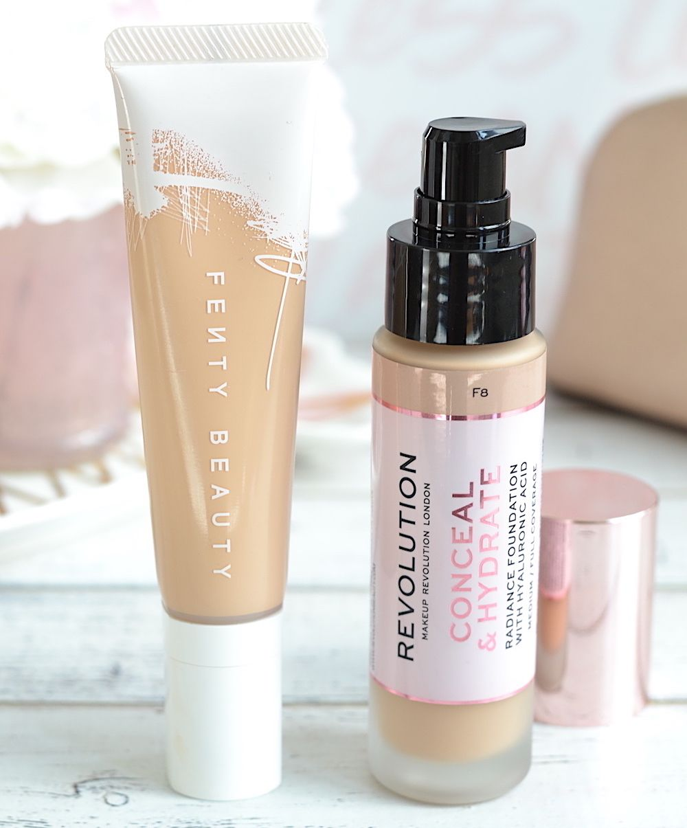 Makeup Revolution Conceal & Hydrate Foundation: Fenty Hydrating Foundation DUPE?