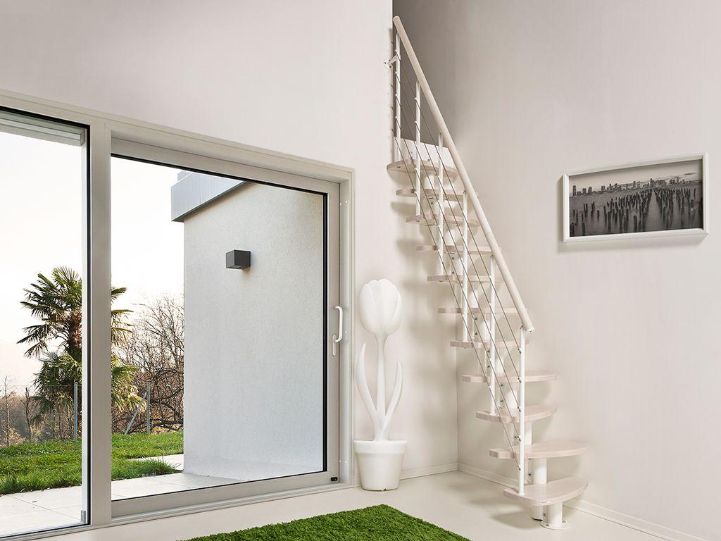 Escaleras ahorradoras de espacio zen dise o para espacios for Casa moderna 3181