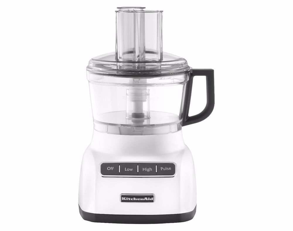 Food processor mixer 2 speed pulse 7 cup bowl kitchen