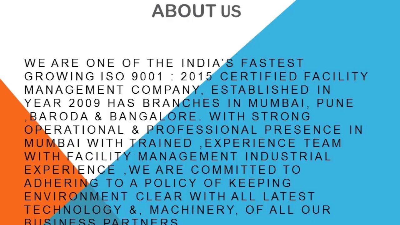 Corporate housekeeping services in mumbai arise facility