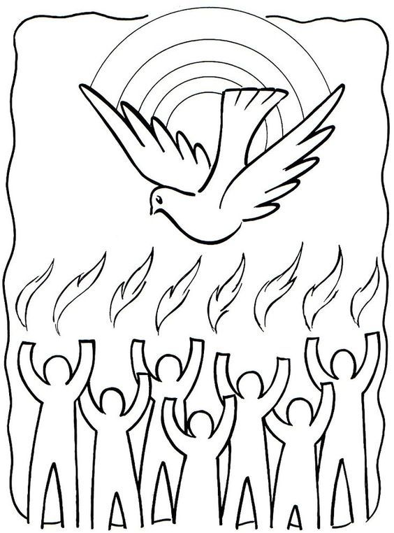 Download Pentecost Drawings Catholic Pictures Wallpapers Pics Images Photos Get Holy