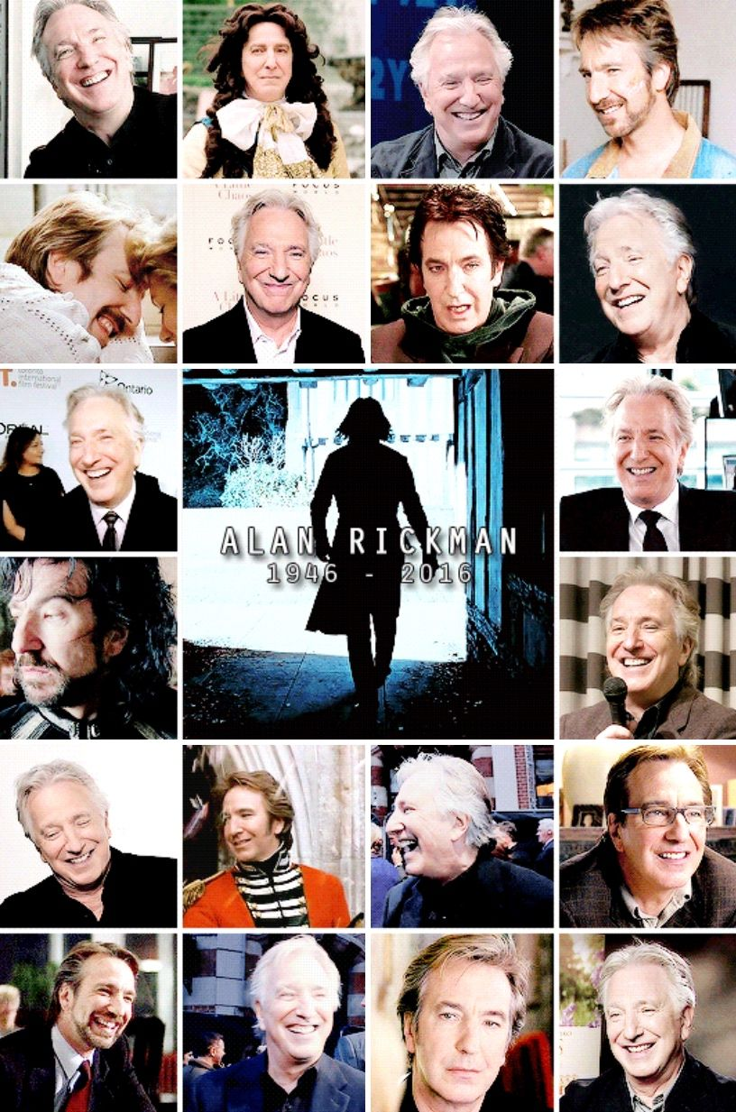 R.I.P. Alan Rickman (21st February 1946 - 14th January 2016 ...