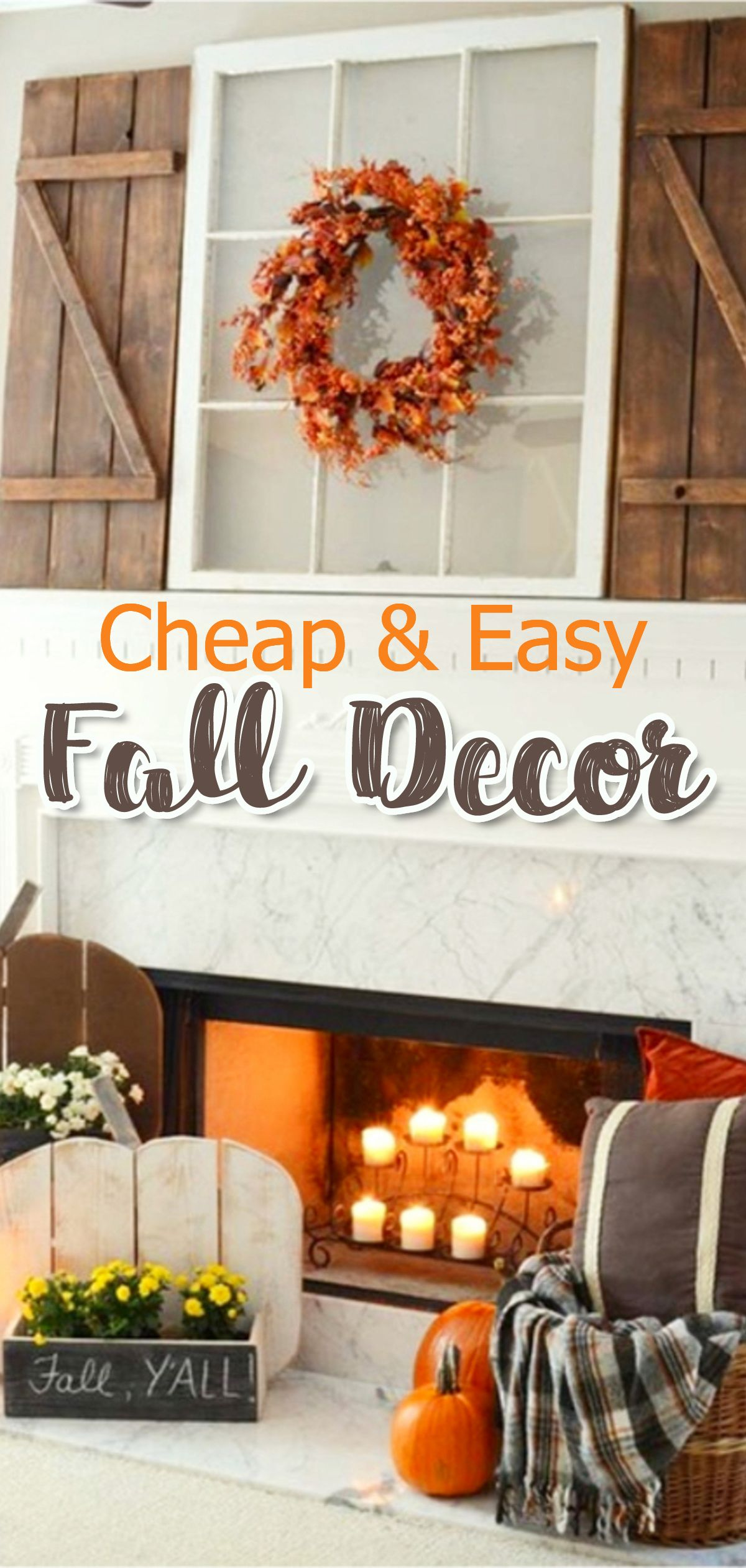 Easy Fall Decor Decorating On A Budget Try These Simple And Affordable Ideas