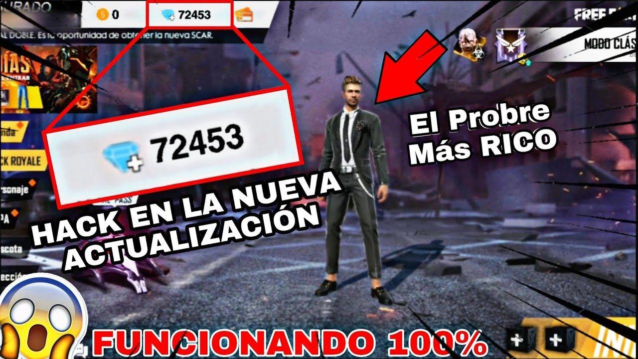 Hack De Diamantes Infinitos En Free Fire 1 35 Nueva