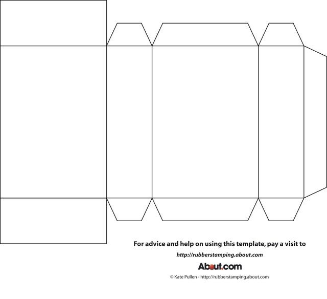 Here S A Template For A Basic Box Perfect To Customize And