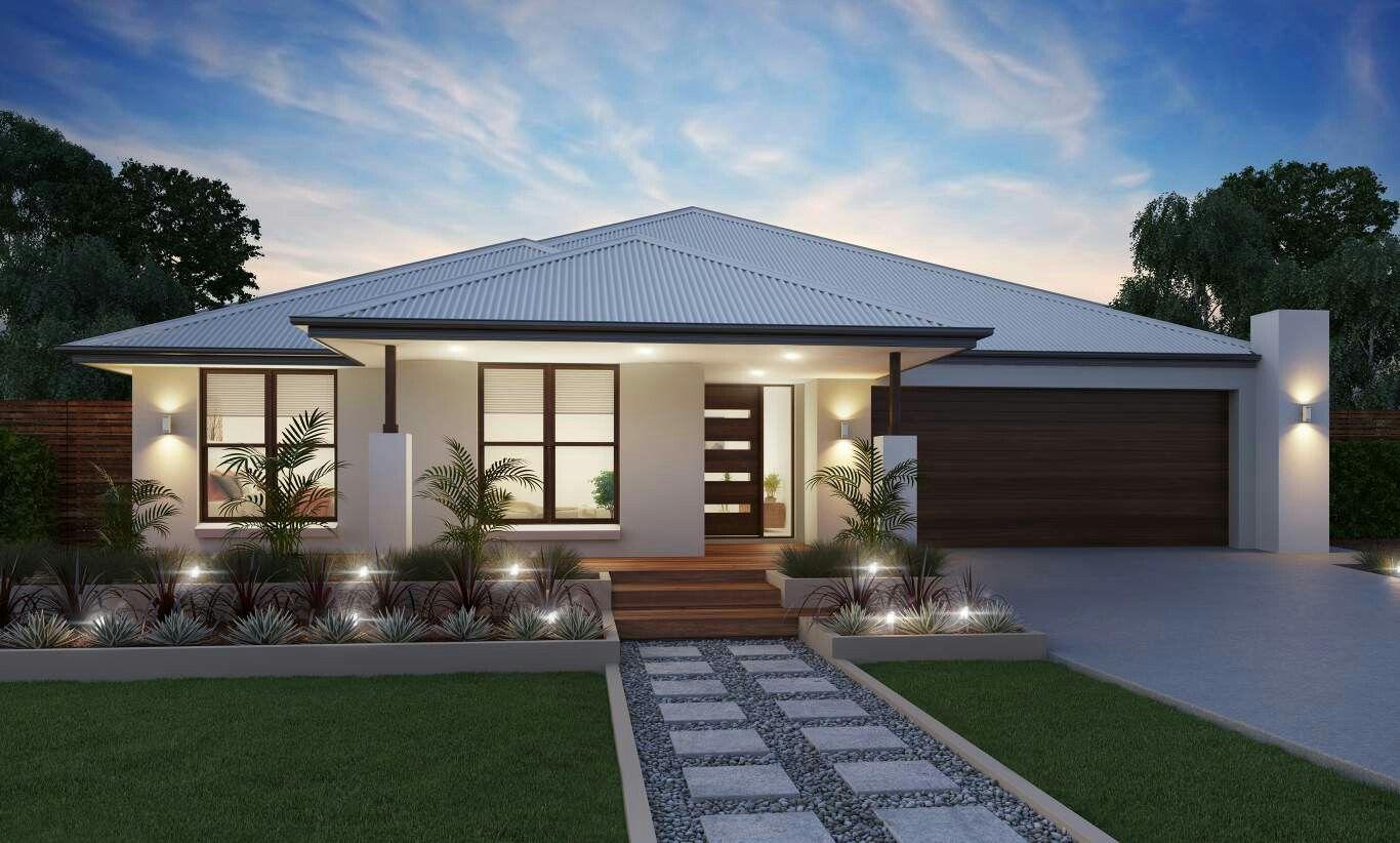 Couleur Exterieur Maison Contemporaine maison plein pied | façade maison moderne, maison moderne