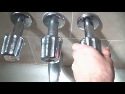 Change A Bathtub Faucet Home Repairs Shower Faucet Repair