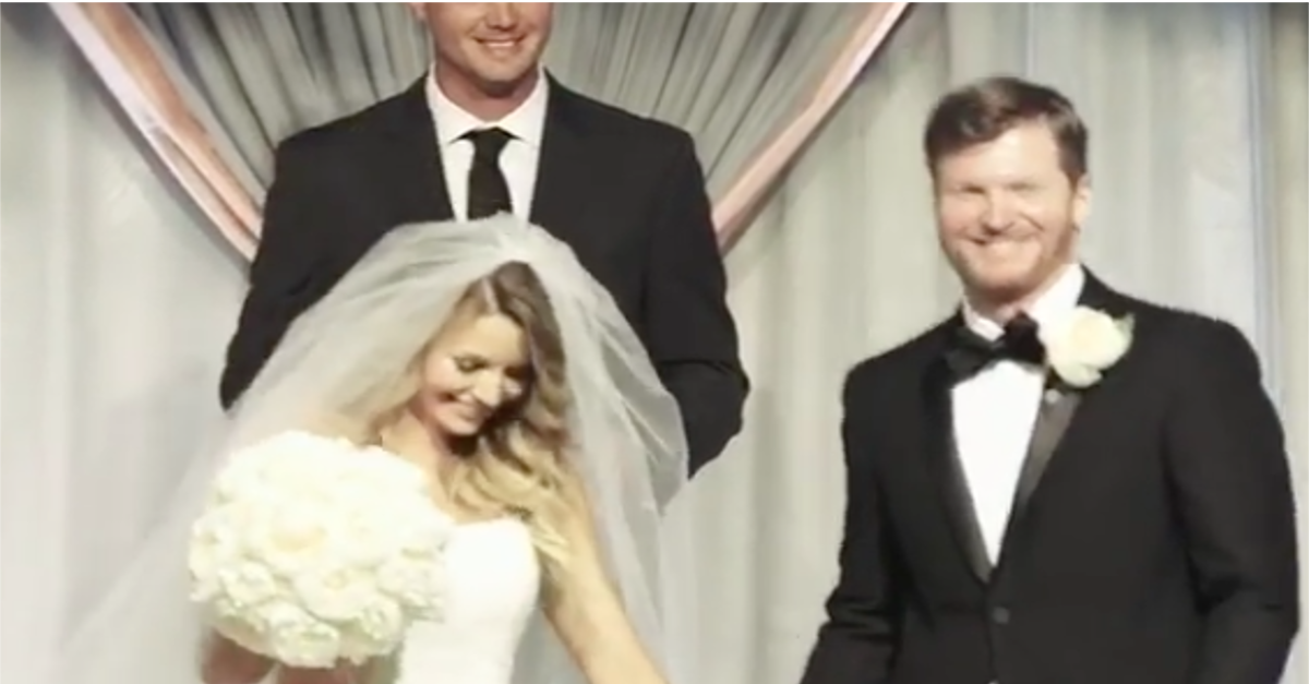 Nascar Fans Are Losing It Over This New Video Of Dale Earnhardt Jr S Wedding