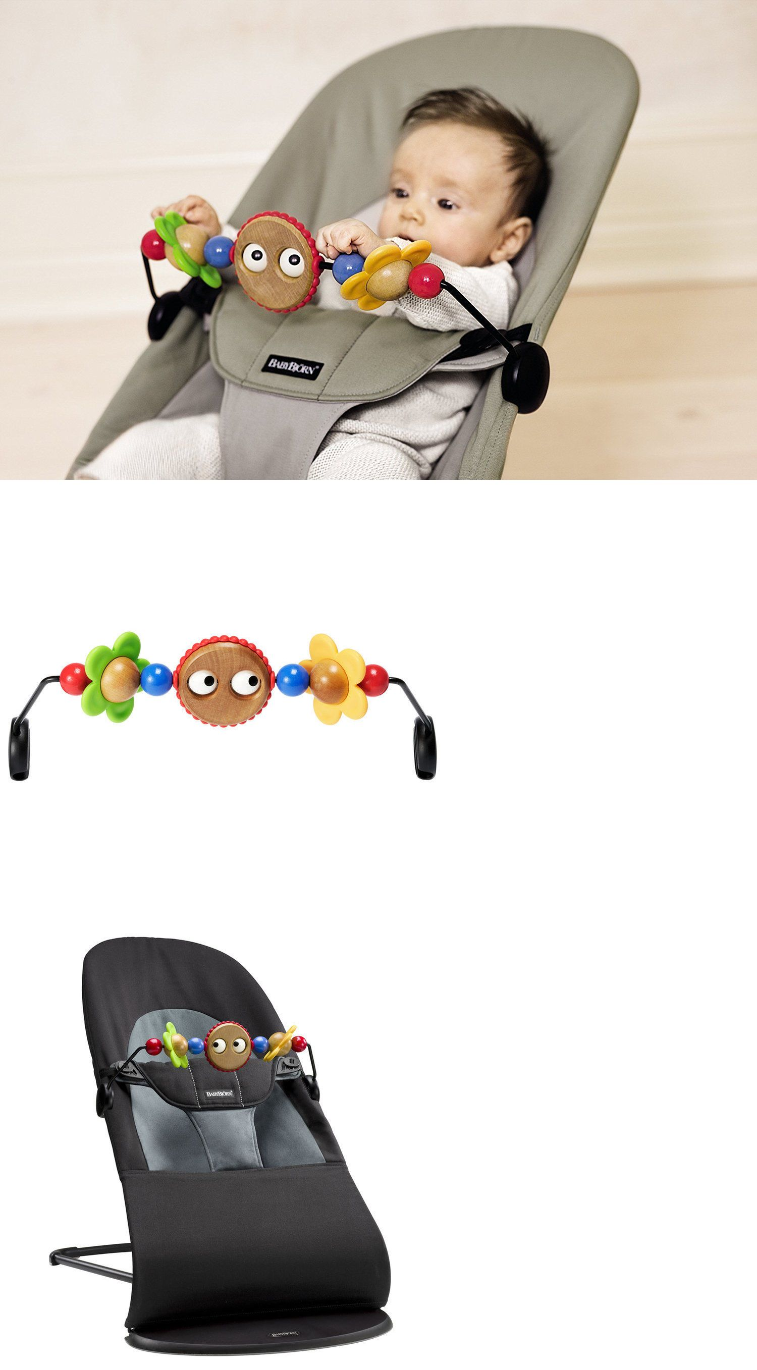 2647723857f Baby Gear 100223  Babybjorn Babysitter Balance Wooden Toy For Bouncer Fun  Baby Toy 874594006201 -