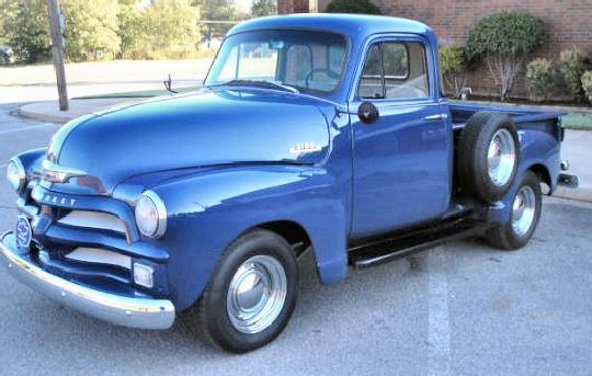 A Beautiful 1954 Chevy 3100 5 Window Pickup With Images Chevy