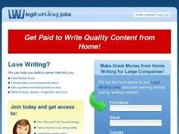 Love Writing? We can help you build a career that lets you: Have flexible hours Choose topics you're passionate about Earn a great income doing what you love Write for blogs, ebooks, magazines, and more  http://0679dpnzrn8lfzfhtiobiz4sav.hop.clickbank.net/