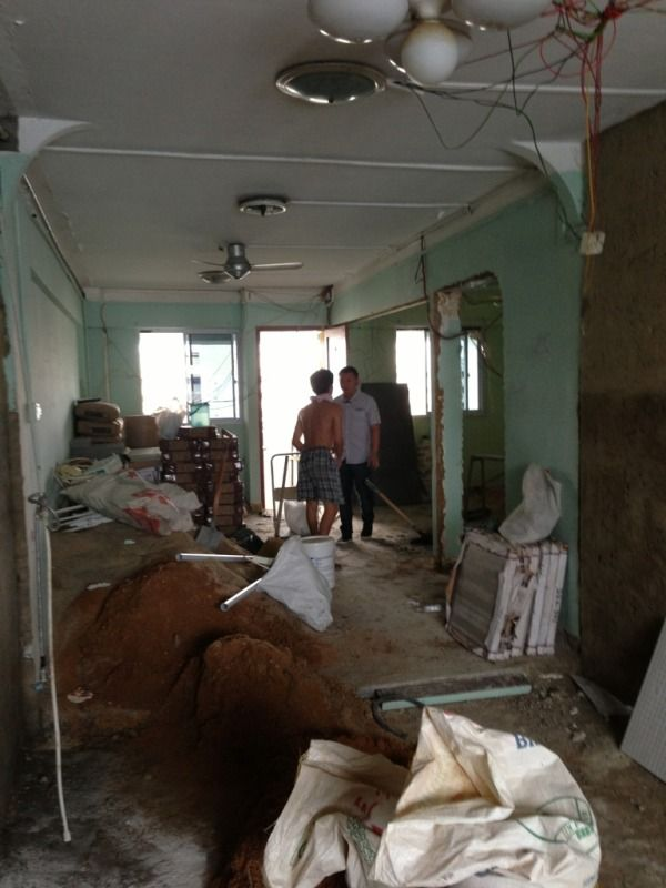 Bedroom Hdb Furniture: HDB New Generation 3 Room Wall Hack
