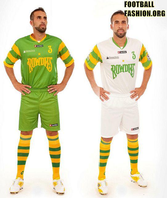 2e7c8d3a6b7 Tampa Bay Rowdies Lotto 2012 Home & Away Kits | Soccer Jerseys ...