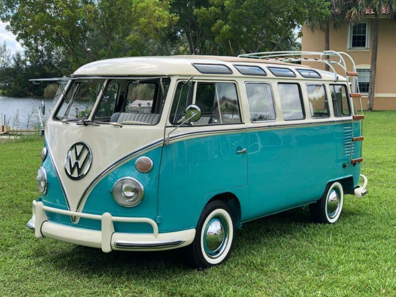 1975 Volkswagen Busvanagon Vw Bus 23 Windows Samba Replica Full Restore Volkswagen Bus Volkswagen Classic Cars